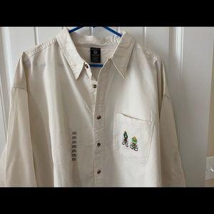 Vintage Warner Bro's button down shirt